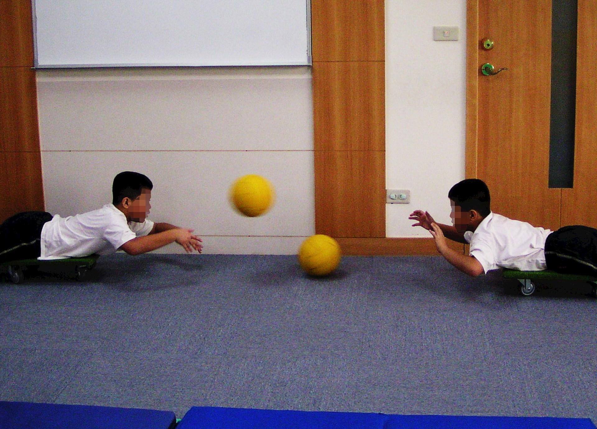 變換運動項目,可以增加趣味性。